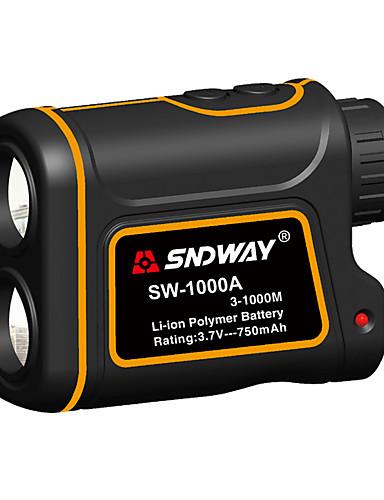 povoljno Elektrika i alati-sndway sw-1000a teleskopski laserski daljinomjer 1000m laserski mjerač udaljenosti s funkcijom mjerenja razlike brzine s funkcijom mjerenja visine vodootporan optički 7 puta usb
