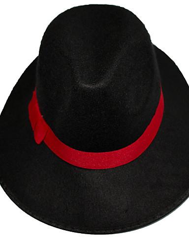 สำหรับผู้ชาย สีพื้น วินเทจ - หมวกบัคเก็ต