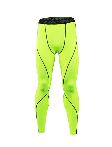 2d62dfabc5d73a 21Grams Men's Compression Pants Running Tights Gym Leggings Grey Black /  Green White+Gray Sports Spandex Compression Clothing Tights Leggings  Fitness Gym ...