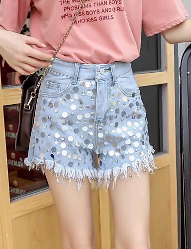 Cerca Voli Per Donna Attivo - Moda Città A Zampa - Pantaloncini Pantaloni - Modello Azzurro #07249566