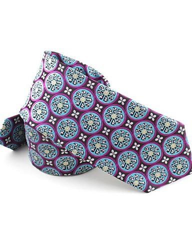 ربطة العنق طباعة / خملة الجاكوارد رجالي حفلة / عمل / رياضي Active