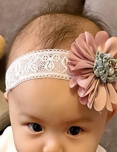 Νήπιο Κοριτσίστικα Ενεργό Συνδυασμός Χρωμάτων Αξεσουάρ Μαλλιών Ανθισμένο Ροζ Ένα Μέγεθος