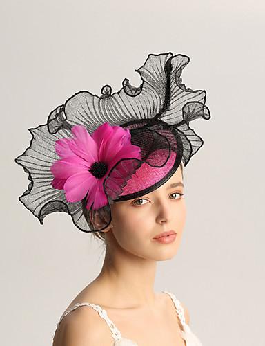 abordables Chapeau & coiffure-Lin / Plumes Fascinators avec Plume 1pc Mariage / Occasion spéciale Casque