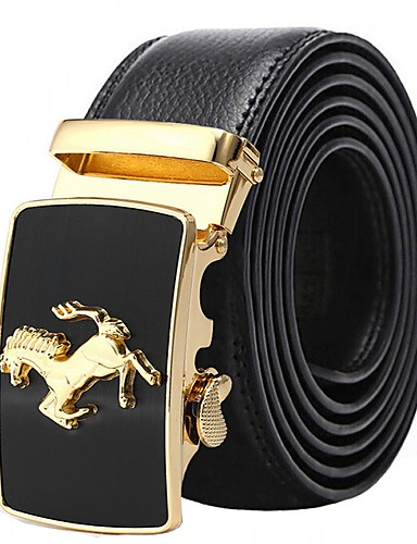 cheap Men's Belt-Men's Work / Basic Waist Belt - Solid Colored