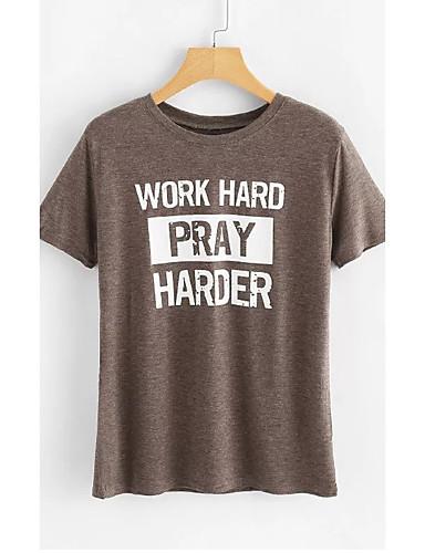 4ef5d10d9c54 Χαμηλού Κόστους Γυναικείες Μπλούζες-Γυναικεία T-shirt Γράμμα Θαλασσί M · Γυναικεία  T-shirt Γράμμα Θαλασσί M