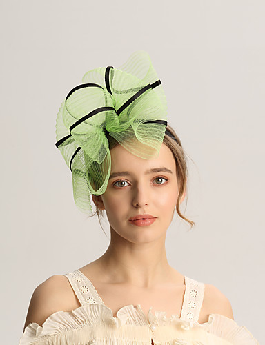 abordables Chapeau & coiffure-Lin / Filet Fascinators avec Fantaisie 1pc Mariage / Occasion spéciale Casque