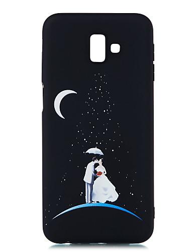 Etui Käyttötarkoitus Samsung Galaxy J8 (2018) / J7 Prime / J7 (2017) Himmeä / Kuvio Takakuori Scenery Pehmeä TPU