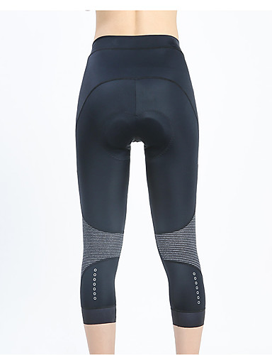cheap Cycling Clothing-LAMEDA Women's Cycling 3/4 Tights Bike 3/4 Tights Padded Shorts / Chamois Pants Breathable 3D Pad Sports Elastane Black Mountain Bike MTB Road Bike Cycling Clothing Apparel Advanced Form Fit Bike Wear