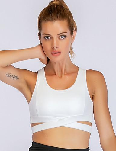 Aggressivo Per Donna Taglia Standard Asiatici Sexy Coprente Reggiseni Sportivo Nylon #07326309