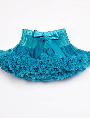 povoljno Odjeća za balet-Dječja plesna odjeća / Balet Suknjice Djevojčice Trening / Seksi blagdanski kostimi Najlon / Mrežica / Polyester Taffeta Lente / Vrpce / Kombinacija materijala Prirodno Suknje