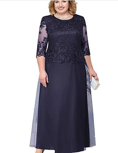 38e5826f0 baratos Vestidos de Mulher-maxi vestido balanço das mulheres vermelho azul  verde l xl xxl