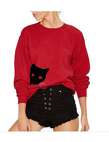 8ac010bc5d2e Χαμηλού Κόστους Γυναικείες Μπλούζες με Κουκούλα   Φούτερ Online ...