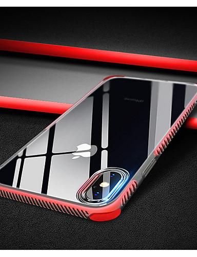 Pouzdro Uyumluluk Apple iPhone XS / iPhone XR / iPhone XS Max Şoka Dayanıklı / Şeffaf Arka Kapak Şeffaf Yumuşak TPU