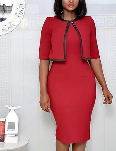 f8bc09b517e2 cheap Women's Dresses-Women's Elegant Bodycon Dress