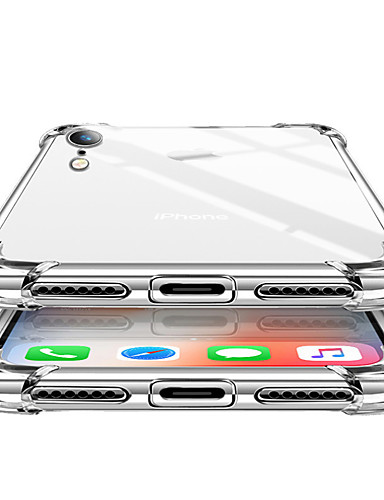 מגן עבור Apple iPhone XR / iPhone XS Max / iPhone X עמיד בזעזועים כיסוי אחורי אחיד רך TPU