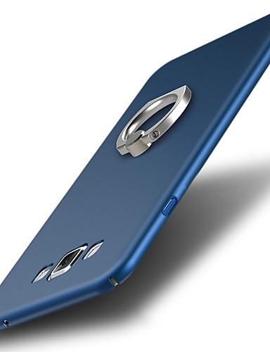 מגן עבור Samsung Galaxy A7 עמיד בזעזועים / מחזיק טבעת כיסוי אחורי אחיד קשיח פלסטי