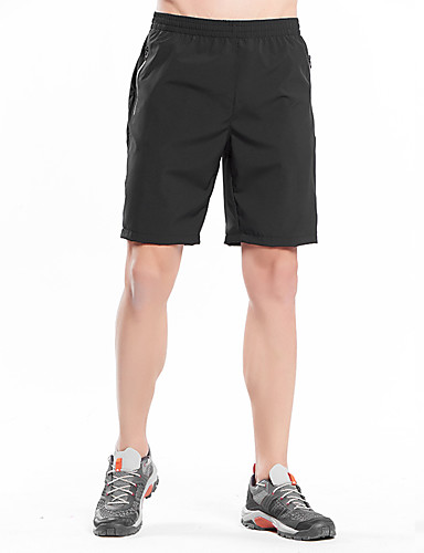 cheap Outdoor Clothing-Men's Solid Color Hiking Shorts Outdoor Breathable Quick Dry Stretchy Comfortable Summer Elastane Shorts Hiking Beach Camping Black Army Green 5XL 6XL 8XL