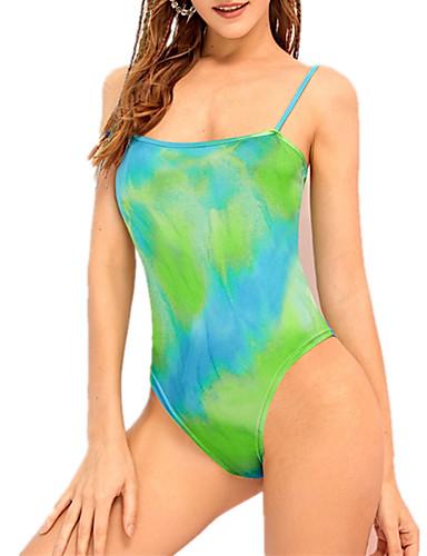 תלתן S M L גב חשוף קשת, בגדי ים חלק אחד (שלם) נועזת תלתן בסיסי בגדי ריקוד נשים