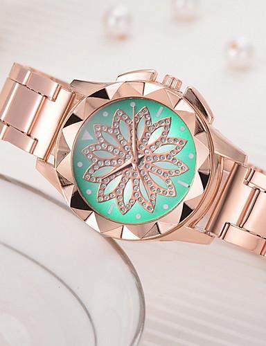 Kadın's Elbise Saat Quartz Gündelik Saatler Analog Klasik - Siyah Açık Yeşil Kırmzı