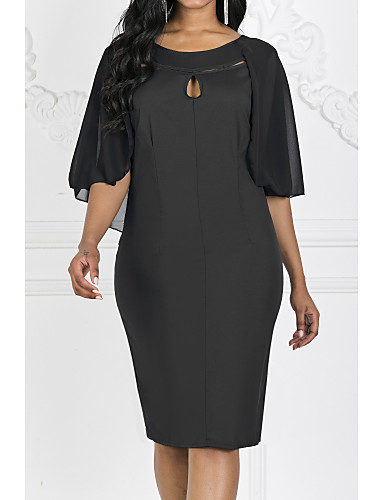 8f1f5d1ff cheap Women's Dresses-2019 New Arrival Women Daily Slim Chiffon Dress
