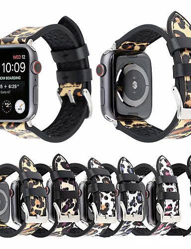 Watch Band için Apple Watch Series 4/3/2/1 Apple Klasik Toka Gerçek Deri Bilek Askısı