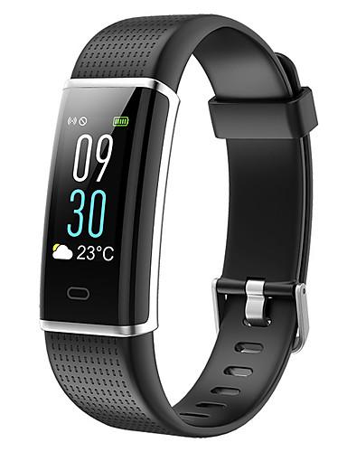 Erkek Spor Saat Dijital Modern Stil Stortif Silikon 30 m Su Resisdansı Bluetooth Smart Dijital Dış Mekan Moda - Siyah Yeşil Mor