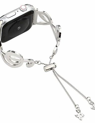 Watch Band için Apple Watch Series 4/3/2/1 Apple Takı Tasarımları Paslanmaz Çelik Bilek Askısı