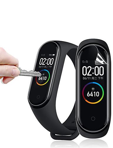 Yumuşak anti çizilmeye ultra hd ekran koruyucuları xiaomi mi band 4 smart watch ekran koruyucu film 5 adet