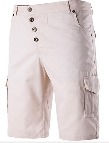 Erkek Temel Chinos Pantolon - Solid Siyah Açık Mavi Beyaz US32 / UK32 / EU40 US34 / UK34 / EU42 US36 / UK36 / EU44