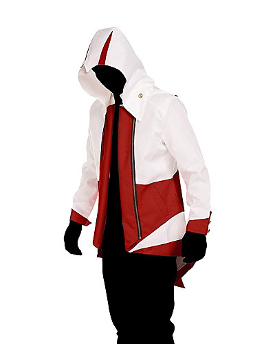 """billige Videospill cosplay-Inspirert av Snikmorder Cosplay video Spill  """"Cosplay-kostymer"""" Cosplay Klær Lapper Langermet Frakk kostymer"""