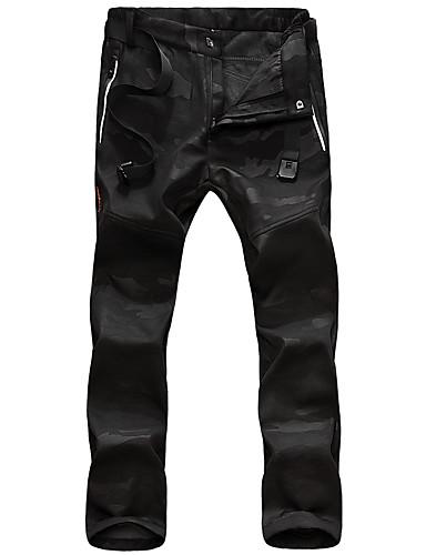abordables Pantalons Femme-Femme Basique Chino Pantalon - Camouflage Bleu, Classique Noir Bleu Roi Gris Foncé XS S M