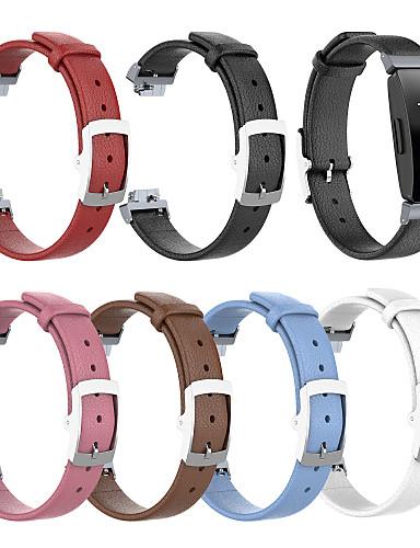 Watch Band için Fitbit HR'ye İlham Ver / Fitbit ilham Fitbit Spor Bantları Gerçek Deri Bilek Askısı