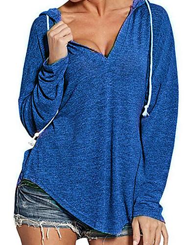 billige Dametopper-T-skjorte Dame - Ensfarget Chinoiserie Svart