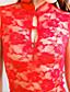 cheap Women's Nightwear-Shuxuer ® Women Polyester Uniforms & Cheongsams/Ultra Sexy Nightwear (with T-back)