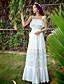 Γυναικεία Φόρεμα Πλισέ Χαμόγελο Μακρύ Αμάνικο Spandex/Πολυεστέρας