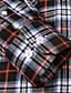 baratos Camisas Masculinas-JamesEarl Masculino Colarinho de Camisa Manga Comprida Shirt & Blusa Vermelho - M61XC001401