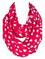 billige Uendelighedshalstørklæde-Unisex Vintage / Sødt / Fest / Casual Øvrigt / Polyester Halstørklæde-Trykt mønster Uendelighedshalstørklæde