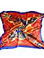 voordelige Modieuze sjaals-Dames Vintage Feest Werk Informeel Alle seizoenen Polyester Print  Vierkant