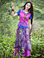 billige Nederdele-Kvinders Sofistikerede Maxi Nederdele Mikroelastisk Polyester