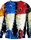 billige Hettegensere og gensere til herrer-Hattetrøje Herre Fritid/hverdag / Sport / Klubb Aktiv / Gatemote / Punk & Gothic,3D Print Oversized Rund hals Mikroelastisk Polyester