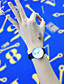 baratos Relógios da Moda-SK Mulheres Bracele Relógio Relógio Elegante Relógio de Moda Chinês Quartzo Impermeável Resistente ao Choque Couro Banda Amuleto Casual