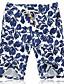 cheap Men's Pants & Shorts-Men's Casual Active Plus Size Cotton Linen Loose Shorts Pants - Floral