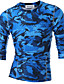 cheap Men's Tees & Tank Tops-Men's Sports Active T-shirt - Camouflage / Long Sleeve