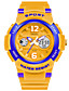 cheap Sport Watches-SMAEL Men's Sport Watch Chinese Hot Sale PU Band Charm White / Blue / Orange