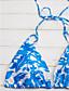 זול 2017ביקיני ובגדי ים-דפוס ביקיני קולר בגדי ריקוד נשים