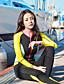 baratos Roupas de Mergulho & Camisas de Proteção-HISEA® Mulheres Macacão de Mergulho Longo 0,5 mm Roupas de Mergulho Respirável Manga Longa - Natação / Mergulho / Surfe Sólido / Moderno