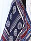 זול צעיפים לנשים-מרובע מלבן - פרחוני יום יומי בגדי ריקוד נשים