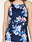 cheap Women's Blouses-Women's Holiday / Going out Blouse - Floral Print Strap / Summer