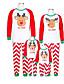 povoljno Obiteljski komplet odjeće-Obiteljski izgled Osnovni Božić Dnevno Geometrijski oblici Dugih rukava Komplet odjeće Red