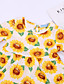 זול חולצות לתינוקות-חולצה חצי שרוול פירות בנות תִינוֹק